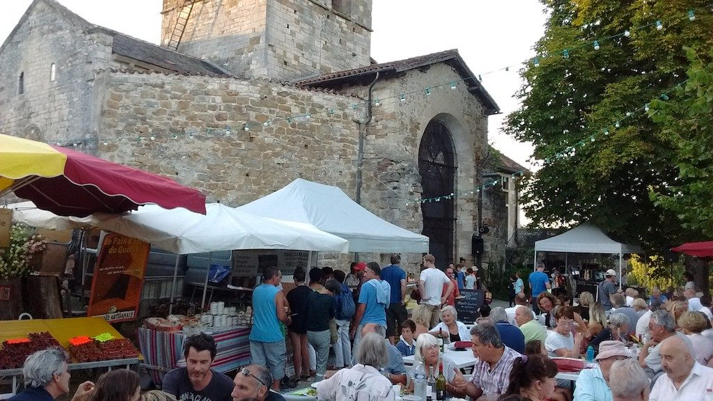 Dorffest in Carennac